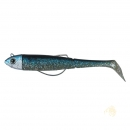 DAM Effzett Kick-S Minnow Weedless 20g Blue Herring