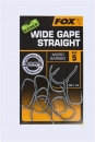 Fox Edges Arma Point Wide Gape Straight Hooks 10 Stk.