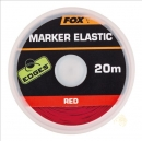 Fox Edges Marker Elastic 20m Red