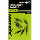 Fox Matrix Hooklength Swivels