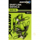 Fox Matrix Snap Link Swivels