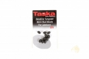 Taska Baseline Tungsten 8mm Oval Beads For Leadcore...