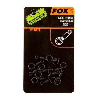 Fox Flexi Ring Swivels Inh. 10 stk