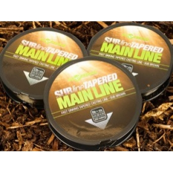 Korda Subline Tapered Mainline 0.30-0.50 Brown 300m
