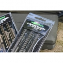 Korda Leadcore Leader 3x Hybrid Lead Clip Gravel Brown QC...