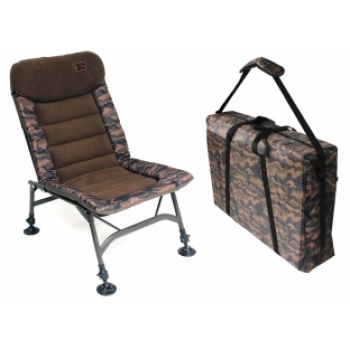 ZFish Quick Session Camou Chair & Carry Bag