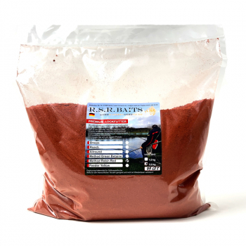 RSR-Baits Premium Lockfutter 2Kg Methode Robin Red