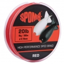 Spomb High Performance Spod Braid Red 20Ib