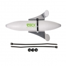 Zeck Fishing Propeller U-Float Solid White 10g