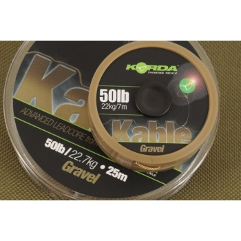 Korda Kable Advaced Leadcore Gravel 50lb - 25m