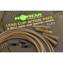 Korda Lead Clip Action Pack Clay 5 Bold Rigs