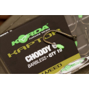 Korda Kaptor Micro Barbed Choddy Size 4  Gravel Brown