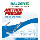 Balzer Method Feeder Quick Stop Rig 5 Stk. Size 12 / 0,20 mm